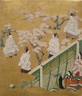 800px-Episode_from_Chapter_34_from_the_series_'The_Tale_of_Genji',_anonymous_18th_century_Japanese_painting,_Honolulu_Museum_of_Art[1].jpg